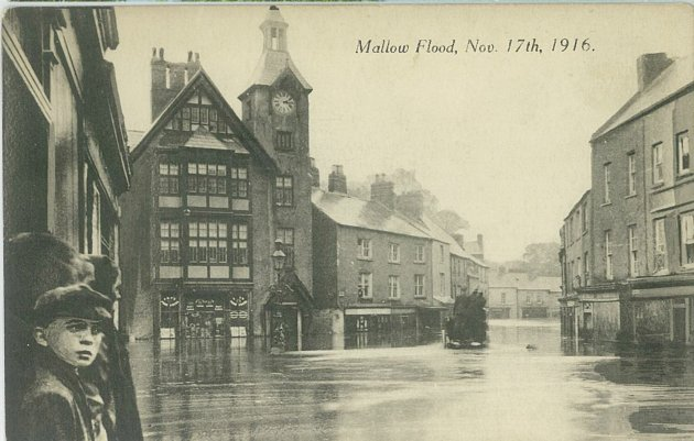 Mallow Ireland  city photos : ... Healy collection features the great flood in Mallow in November 1916