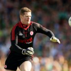 The Newtownstewart goalkeeper was between the posts for Tyrone's 2005 and 2008 triumphs while he was a substitute for their breakthrough win in 2003 against Armagh.<span class=