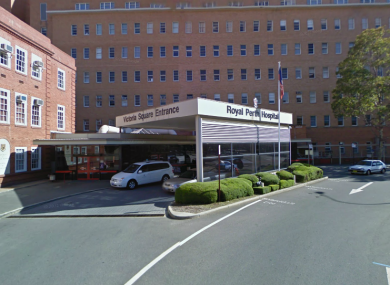 Royal Perth Hospital, where Tom Keaney is in critical condition.