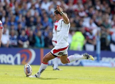 Pienaar slots another kick in Ulster colours.