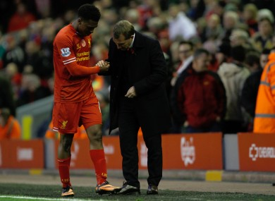 Daniel Sturridge will not play again in 2013.