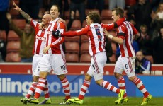 Stephen Ireland on target as Potters down Chelsea