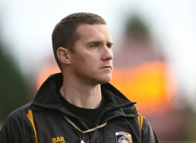 McEntee: managed Cross to the 2011 and 2012 All-Ireland titles.