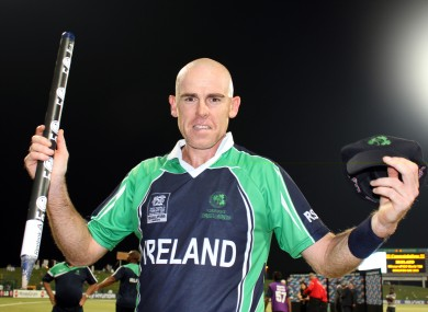 Trent Johnston appeared 198 times for Ireland.