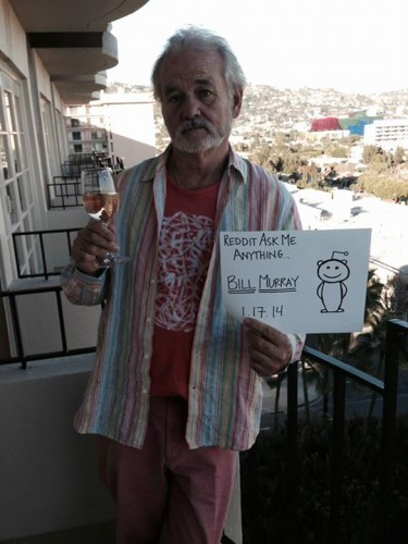Join Bill Murray on reddit NOW and Ask Him ...