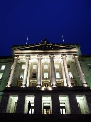 Stormont building, Belfast.