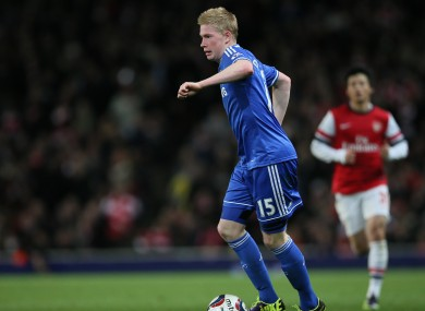 Kevin De Bruyne found first-team opportunities at Chelsea limited.
