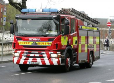 File photo: Dublin Fire Brigade