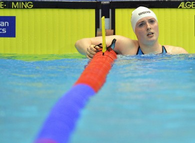 Fiona Doyle won silver at the World University Games last summer.