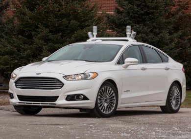 Ford is one company experimenting with self-driving cars.
