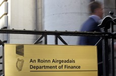 The Department of Finance has lost letters connected to the bank guarantee