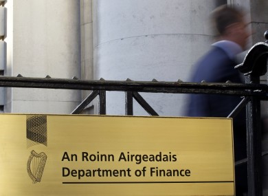 The Department of Finance on Merrion Street.