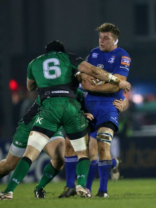 Murphy tackles by centurion Andrew Browne.