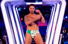 Keith Duffy wore shamrock speedos on live TV