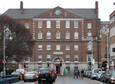 The National Maternity Hospital on Holles Street.