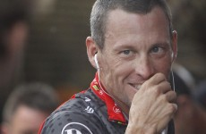 Lance Armstrong sent Paul Kimmage a Happy New Year tweet last night