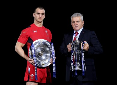 Warburton and Warren Gatland mean business.