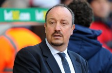 Rafa Benitez thinks Liverpool will qualify for the Champions League ahead of United