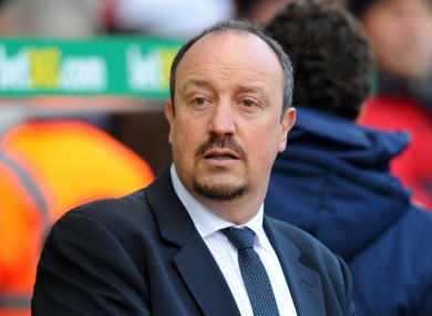 Rafa Benitez has been impressed by his former side this season.