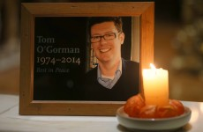 In pictures: Tom O'Gorman remembered as friends gather for candlelit vigil
