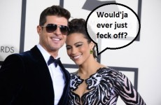 Robin Thicke and wife split in least surprising break-up ever… it's The Dredge