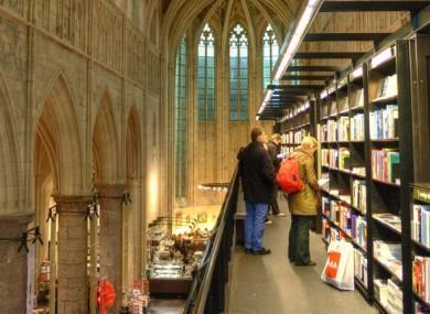 Boekhandel Selexyz Dominicanen in Maastricht, Holland