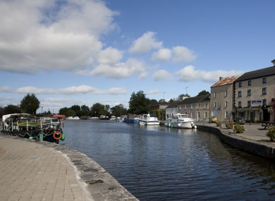 The Royal Canal at Richmond Harbour in the tiny village of Clondra in Co. Longford.