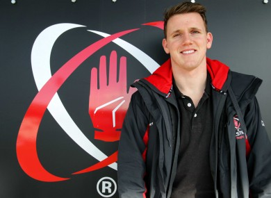 Craig Gilroy has three tries in 13 Ulster games this season.