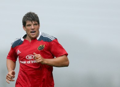 O'Callaghan remains an important presence for Munster.