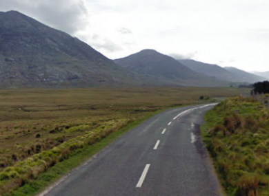 The R344 in Connemara (File photo)
