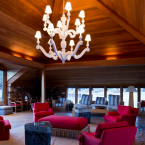 Kaiser is most known for being the prime contractor for the Hoover Dam as well as his creation of Liberty ships during WWII. Here is an interior view of the stunning boathouse.<span class=