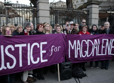 Relatives of victims of the Magdalene Laundries