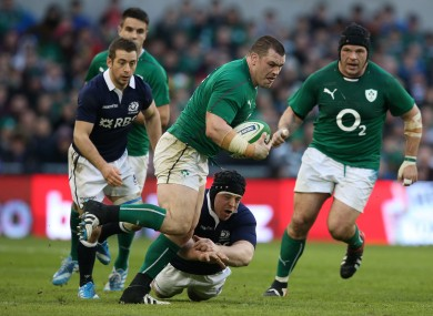 Healy was effective for Ireland with ball in hand.