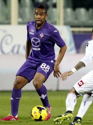 Anderson made his Fiorentina debut last week.
