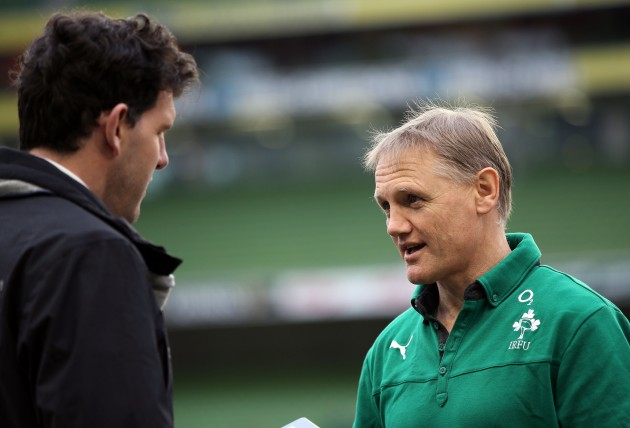 Joe Schmidt and Shane Horgan