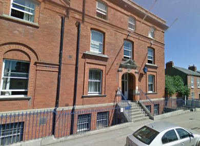 Mountjoy Garda Station, where the youth is being held.