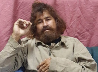 Jose Salvador Alvarenga on Monday