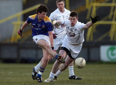Barry McKeon, pictured here against Kildare in 2013, scored the winning point for Longford.