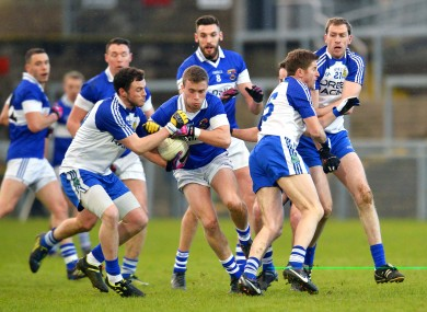 Ballinderry and St. Vincent's clash in Newry.