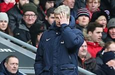 'Wenger the angriest I've ever seen him' – Arteta