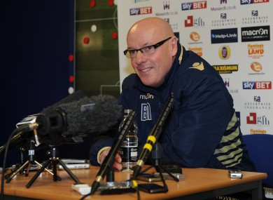 McDermott at today's press conference.