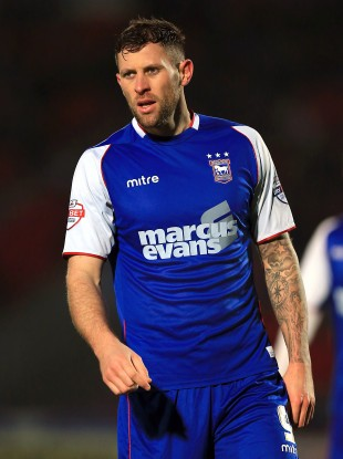 Daryl Murphy of Ipswich has been named in the squad.