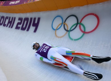 Three Indian athletes, including Shiva Keshavan, had been competing under the Olympic flag.