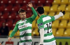VIDEO: Stephen McPhail scores a free-kick on his Shamrock Rovers debut