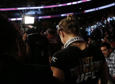 Ronda Rousey: headlines UFC 170 against the unbeaten Sara McMann.