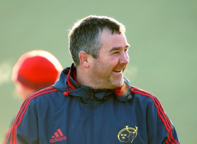 Foley will take over as Munster head coach next season.
