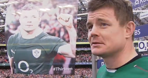 'I've loved my time playing in this jersey': Brian O'Driscoll bows out in style on Lansdowne Road