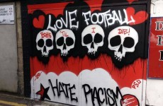 Snapshot: Dalymount Park has been covered in graffiti