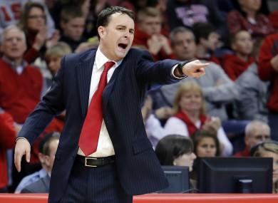 Dayton coach Archie Miller: a happy man.