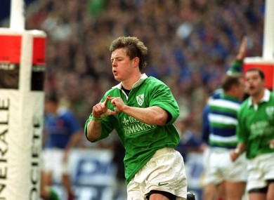 O'Driscoll has just two games left in his international career.